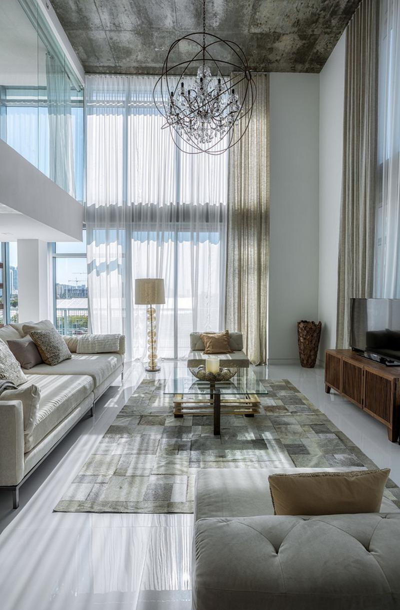 邁阿密奢華雙層公寓