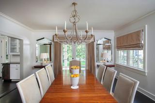 古典风格与现代风格兼备的住宅