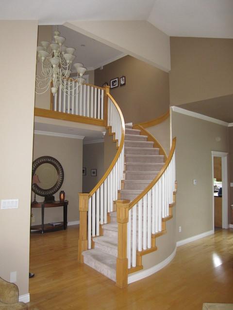 宜家风格舒适客厅跃层楼梯设计图纸_齐家网装修效果图图片