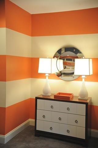 暖色调温馨欧式公寓设计