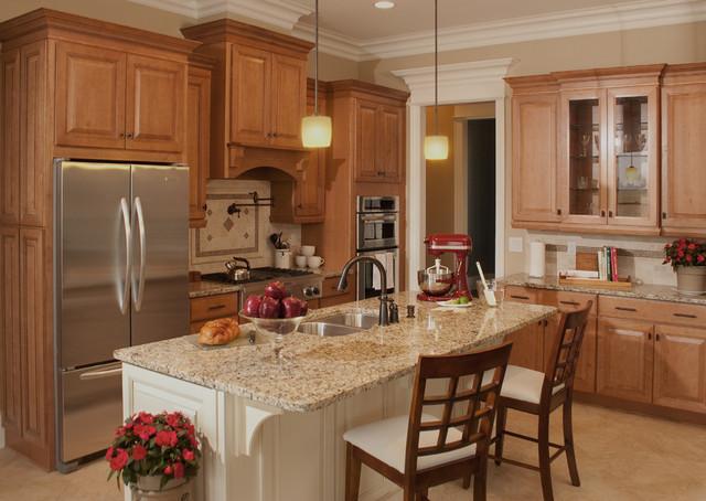 原木色小户型开放式厨房厨房吧台橱柜设计图纸