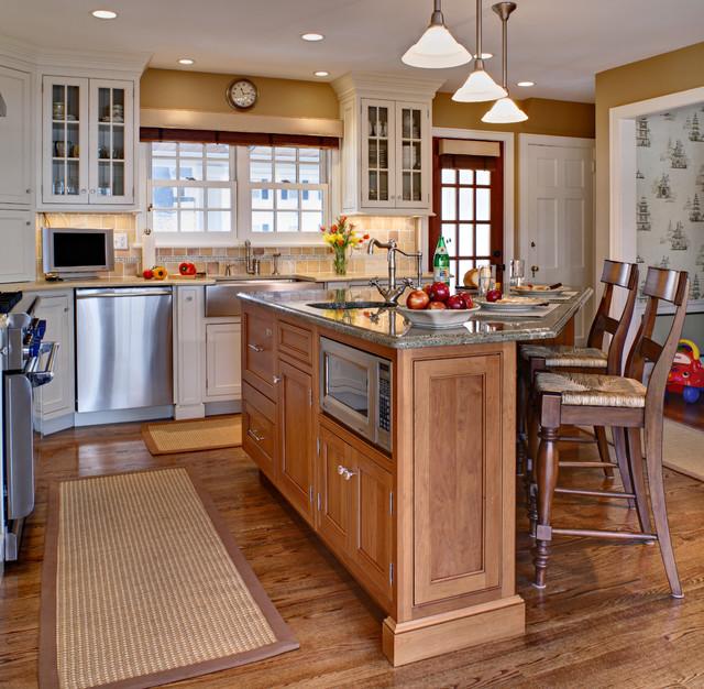 大气原木色欧式开放式厨房开放式厨房吧台装修图片图片