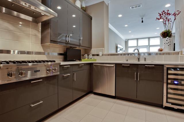 大户型客厅客厅简洁开放式厨房吧台别墅外墙瓷砖效果图