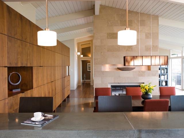 现代中式风格酒店式公寓欧普照明吸顶灯效果图