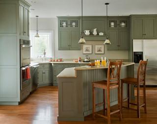 时尚衣柜绿色橱柜4平米小厨房宜家椅子图片