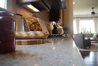 现代欧式风格小户型公寓舒适2013家装厨房效果图