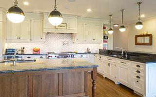 白色简欧风格简洁卧室欧式开放式厨房卧室地板效果图