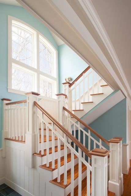 40平小清新室内阁楼楼梯装修效果图