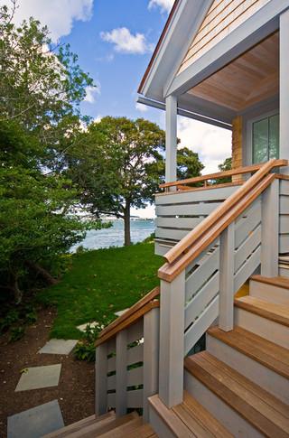 酒店式公寓客厅简洁庭院灯室内装修楼梯装修图片