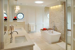现代简约风格精装公寓大气2013卫生间装修效果图
