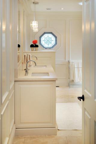 现代简约风格单身公寓大气品牌浴室柜效果图