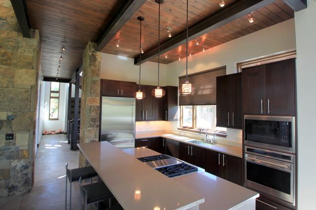 开放式制品木工厨房图纸图纸简易图片