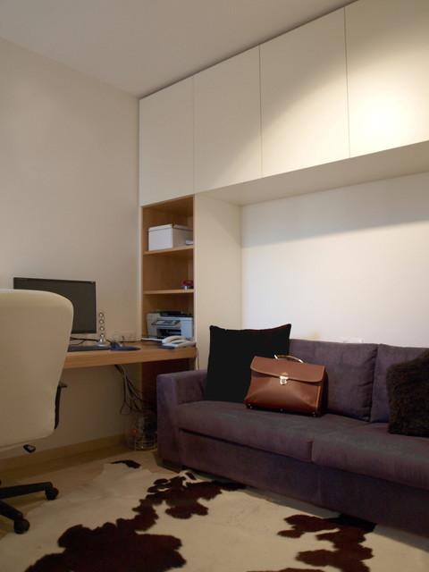 简欧风格卫生间酒店式公寓大气红地毯效果图