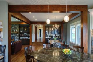 三层双拼别墅奢华家具红木餐桌图片