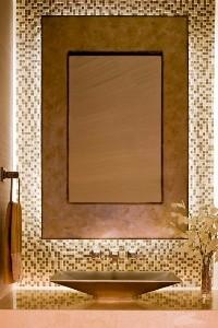 大户型客厅欧式奢华金色设计图