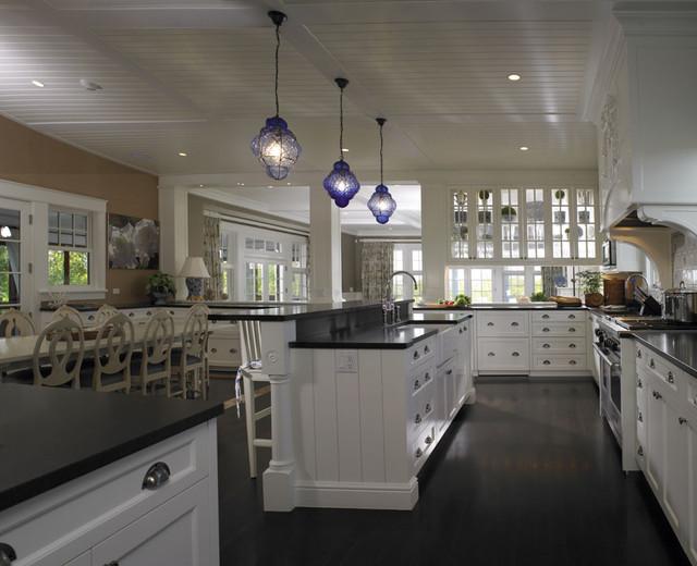 稳重卧室黑白小户型开放式厨房飞利浦吸顶灯效果图