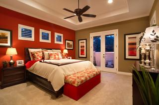 小型公寓豪华欧式客厅15平米卧室设计图