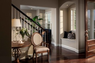 现代欧式风格现代奢华欧式客厅吊顶欧式过道装修效果图