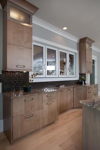 宜家风格古典家具原木色家居开放式厨房装修效果图