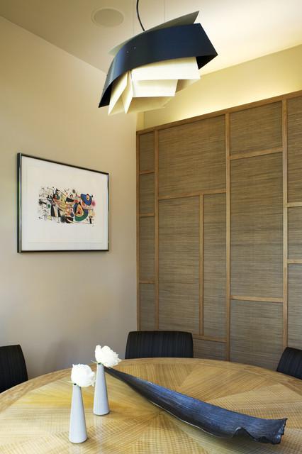 大户型现代简洁红木家具餐桌效果图