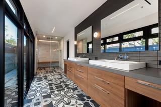 酒店公寓时尚客厅品牌浴室柜效果图