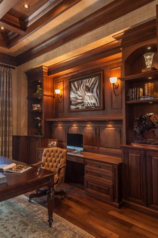 原木色大气简洁公寓装修设计