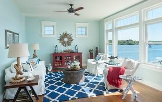 大户型客厅小清新绿色橱柜2012客厅装修图片