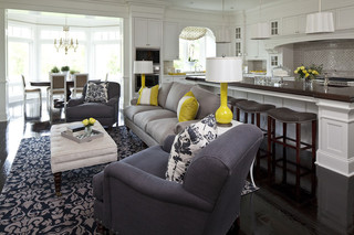 loft公寓稳重灰色窗帘2013客厅窗帘装修图片