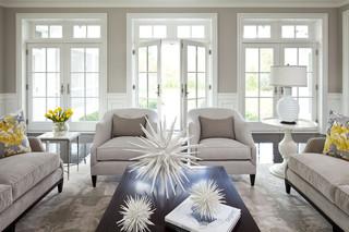 单身公寓白色简约2014客厅窗帘布艺沙发图片