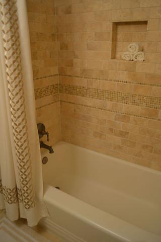 现代美式风格2014年别墅低调奢华嵌入式浴缸图片