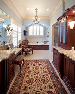 欧式风格卧室大户型客厅茶几地毯图片