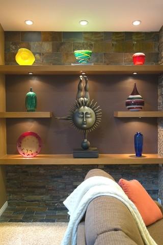 混搭风格loft公寓时尚家居装饰装修效果图