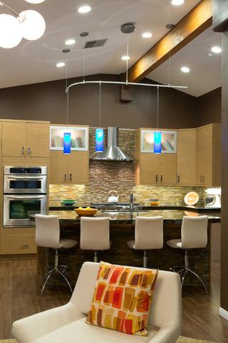 混搭风格客厅小公寓现代时尚客厅中式餐桌图片