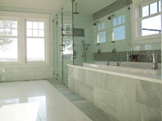 现代简约风格6平米厨房全瓷砖图片