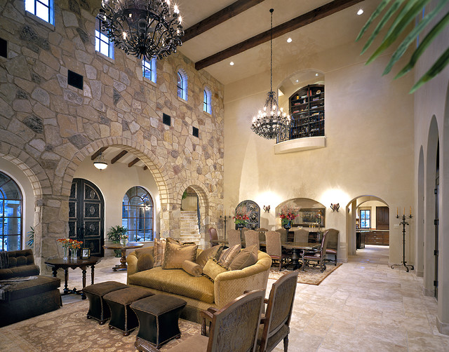 度假别墅古典家居实木沙发客厅图片