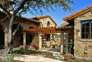 度假别墅中式古典家具家庭庭院设计图纸