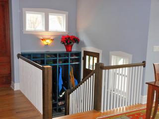 现代美式风格40平古典欧式住宅楼梯设计图设计图纸