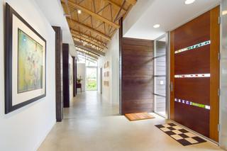 宜家风格三层小别墅时尚家具装修走廊吊顶装修效果图