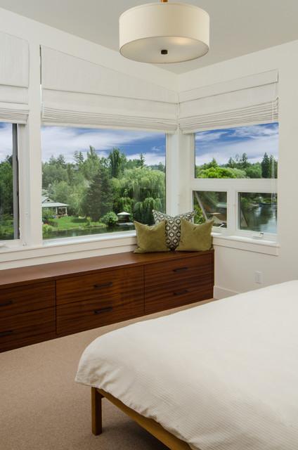 东南亚风格卧室三层独栋别墅乐活4平米卧室设计图纸