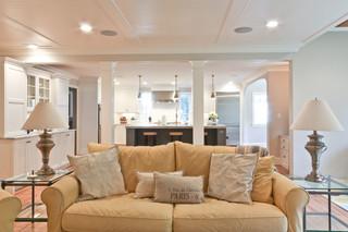 宜家风格复式客厅装饰小清新名牌布艺沙发效果图