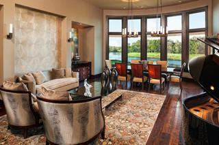 新古典风格15平米梦幻家具2013客厅窗帘装修图片