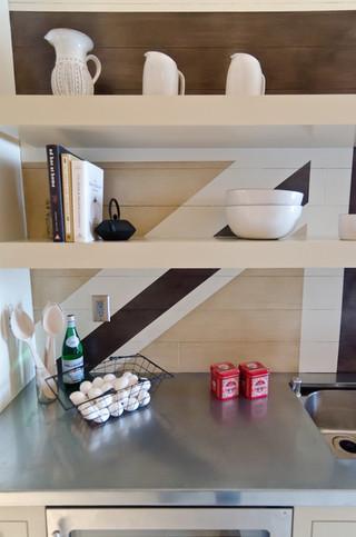 混搭风格搞怪富裕型厨房收纳架图片