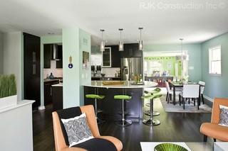 新古典风格欧式奢华蓝色厨房富裕型效果图