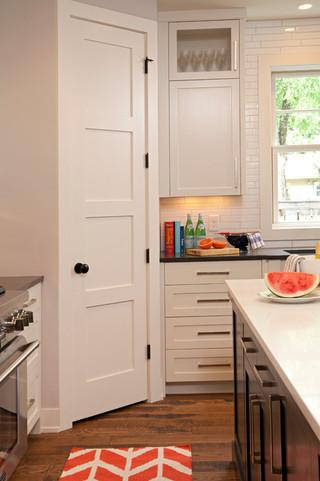 现代简约风格厨房三层小别墅时尚家居白色欧式家具效果图