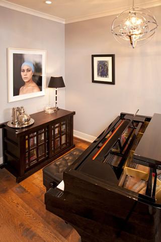 现代简约风格餐厅三层平顶别墅时尚家居装饰设计图