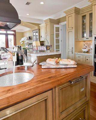 现代简约风格厨房时尚卧室富裕型橱柜效果图