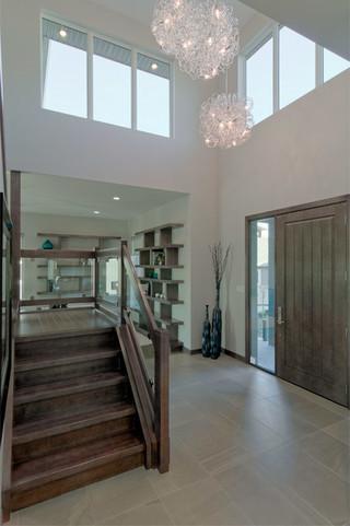 现代简约风格客厅复式温馨装饰客厅跃层楼梯设计图纸