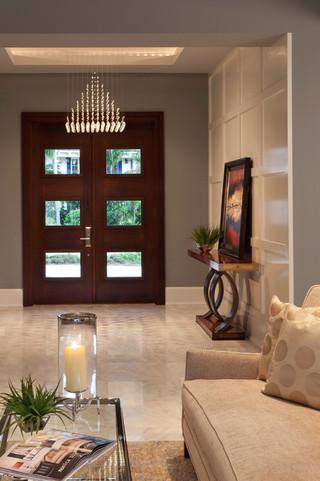 混搭风格客厅三层半别墅豪华卧室卧室门效果图