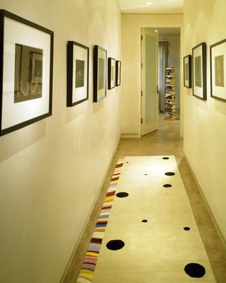 现代简约风格精装公寓浪漫卧室走廊玄关装修效果图
