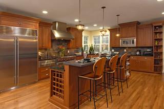 现代简约风格卫生间三层连体别墅乐活红木家具餐桌效果图